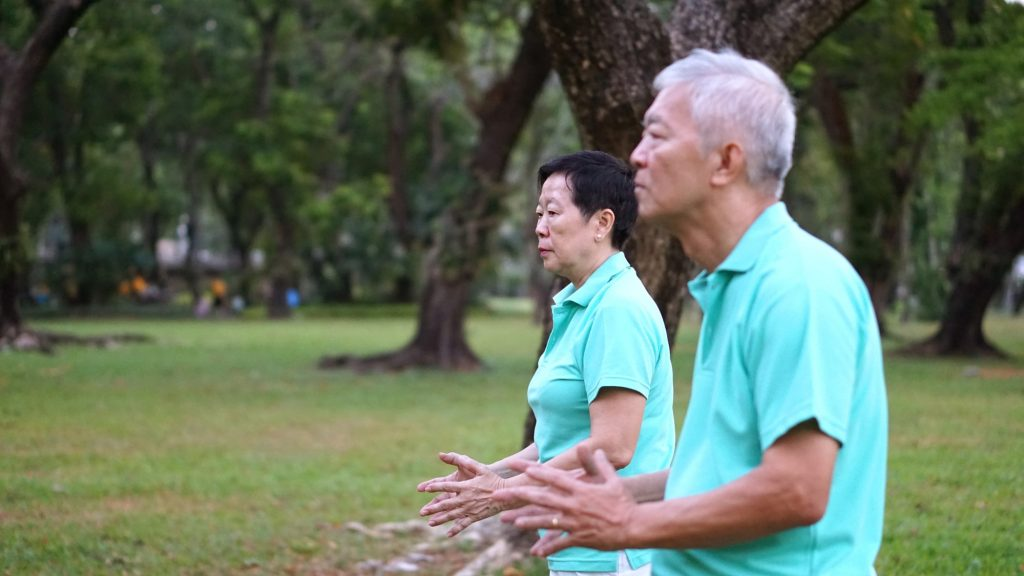 Exercises for elderly Singapore